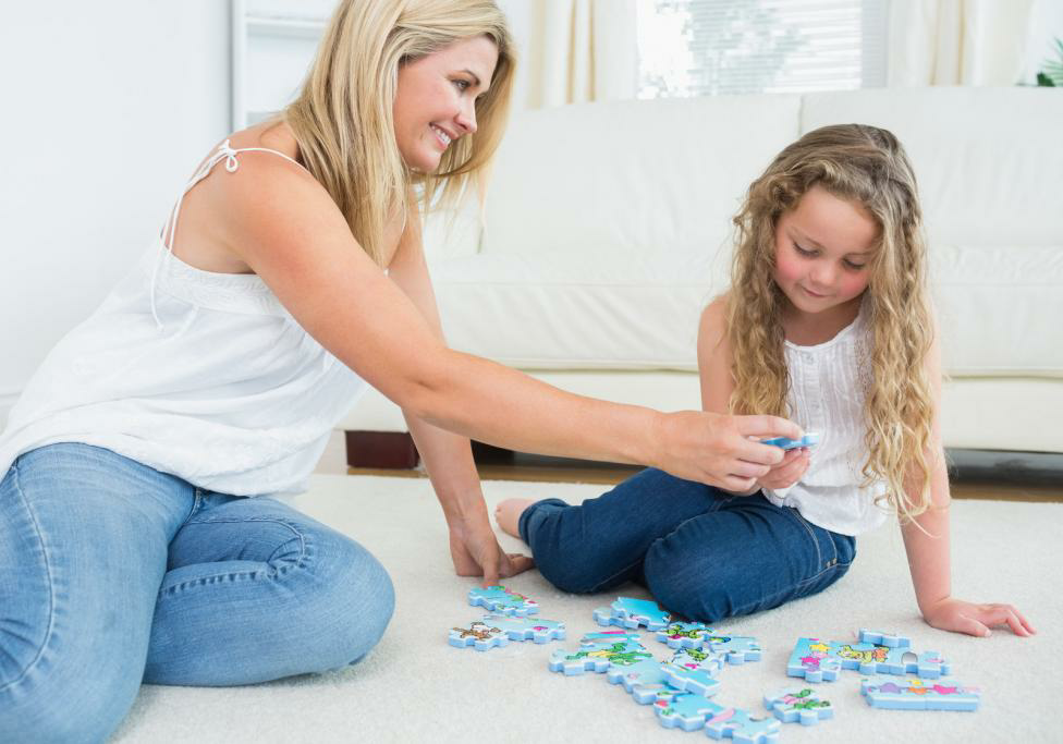 Jigsaw puzzles can help your child develop shape recognition and critical thinking